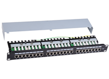 Knet Cat6 STP 24 Port Patch Panel